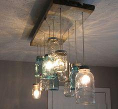 jar chandelier                                                       …