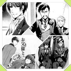 Vincent Phantomhive and Diedrich | Black Butler // Kuroshitsuji