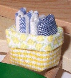 how to: fabric basket