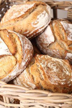 Pain Naturel - A beautiful Sourdough Bread Recipe Sourdough Recipes, Sourdough Bread, Bread Recipes, Baking Recipes, Cooking Bread, Bread Baking, Poolish Bread Recipe, Beignets, Vegan Bread
