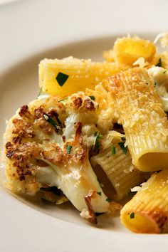 In this recipe, cauliflower gets garlic, sage, red pepper and capers. And it is browned in olive oil, which further enhances the flavor. If you want a terrific side vegetable, just serve the sautéed cauliflower and skip the rigatoni. (Photo: Fred R. Conrad/The New York Times)
