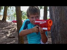 Nerf WAR! BOY vs GIRL! - YouTube
