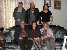 my uncle jesse, aunt myra and cousins sonny, maryjane and kathy