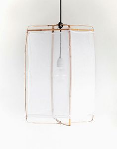 The ethereal beauty of the Koushi Lamp designed by photographer Mark Eden Schooley