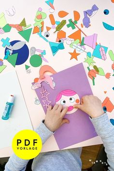 Mit der neuen Kinder Collage Vorlage zum Ausdrucken seid ihr super ausgestattet für eine wilde und fantasievolle Kreativreise ins Collage-Paradies. Ob damit bunte Bilder zum Einrahmen als Deko für das Kinderzimmer entstehen, lustige Einladungen zum Kindergeburtstag, oder witzige DIY Geschenke für Freunde und Familie – die Möglichkeiten mit den Formen und Figuren sind unendlich! Jetzt loslegen! #wlkmndys #bastelnmitkindern #diyideen #basteln #diy