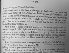 Excerpt from Rogue by Karen Lynch :) <3
