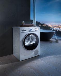 #Siemens #washerdryer: Wash and dry your #laundry quickly and extremely gentle. // Siemens #Wäschetrockner: Ihre #Wäsche wird schnell und dennoch äußerst schonend behandelt. #enjoysiemens
