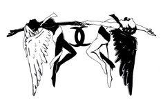 Gemini Fairies by sapphire-blackrose.deviantart.com on @deviantART