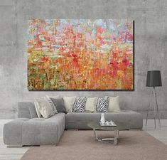 Large Abstract Wall Art Paintings for Living Room, Hand Painted Acrylic Paintings – Page 3 – Silvia Home Craft Large Paintings For Sale, Buy Paintings Online, Online Painting, Easy Paintings, Modern Paintings, Abstract Paintings, Canvas Painting Landscape, Hand Painting Art, Acrylic Painting Canvas