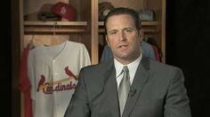 Matheny finishes second in 2015 NL MOY voting. Cardinals Baseball, St Louis Cardinals, Yadier Molina, Great Team, My Man, My Boys, Suit Jacket, Sports, Jackets