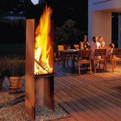 attika bazar outdoor fireplace
