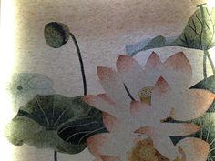 Lotus, beautiful mosaic art