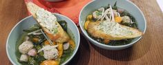Spring Slow Cooker Soup with Turkey Meatballs Recipe | The Chew - ABC.com