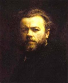 Self Portrait via Henri Fantin-Latour Size: 44x54 cm Medium: oil, canvas
