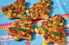 Mini Christmas tree pizzas recipe - goodtoknow