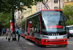 SKODA 15T For City Tram - DP (Public Transport) Prague Czech Republic   Flickr - Photo Sharing!