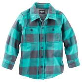 A cold-weather essential for every little guy, this flannel layers perfectly over graphic tees or under pullovers.<br>