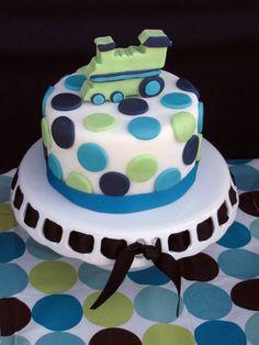 "Photo 1 of 16: Train / Birthday ""Cupcake express Train Birthday""   Catch My Party @Emerald Bragg"