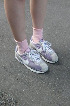 socks and sneakers