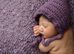 newborn, purple.  newborn baby girl. MN newborn photographer