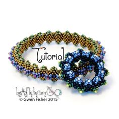 TUTORIAL Horned Bangle Bracelet Beaded with Peyote Stitch Inspired by Contemporary Geometric Beadwork par gwenbeads sur Etsy https://www.etsy.com/fr/listing/245479823/tutorial-horned-bangle-bracelet-beaded