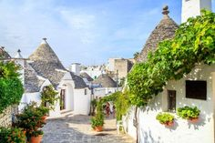 alberobello, Italy, 19 Incredible Places You Never Knew Existed in Europe Amazing Places On Earth, Beautiful Places To Travel, Cool Places To Visit, Alberobello Italy, Travel Around The World, Around The Worlds, Europe Day, Places In Italy, Destination Voyage