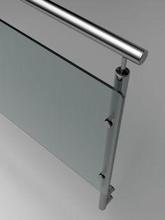 Barandillas de vidrio para escaleras - Más información en Enesca.es