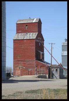 Grain Elevator Near my moms house, Dutton, MT