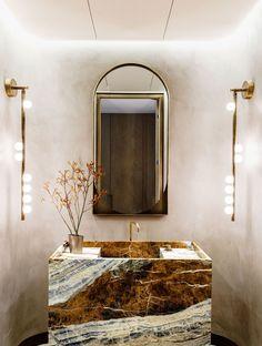 Bathroom Interior Design, Interior Decorating, Interior Styling, Architecture Design, Powder Room Design, Manhattan Apartment, Manhattan Kitchen, Tadelakt, Bathroom Trends