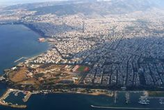 Aerial view of Kalamaria, Thessaloniki Greece Macedonia, Greek Islands, Holiday Destinations, Aerial View, Athens, Google Images, City Photo, Spanish, Tours
