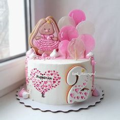 Birthday Cake Baby Girl Desserts 48 Ideas For 2019 Fondant Cupcakes, Wedding Cakes With Cupcakes, Easter Cupcakes, Fun Cupcakes, Cupcake Cakes, Baby Birthday Cakes, Birthday Desserts, Cake Baby, Baby Shower Cupcakes For Girls