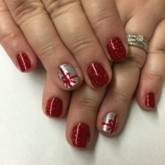 #christmasnails #presents #decembernails