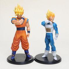 Dragon Ball Z: Super Saiyan Goku & Vegeta Resolution of Soldiers Vol. 2 17-18cm Figures (2 piece set) [Banpresto]