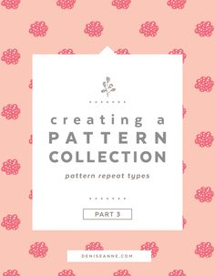 Creating a Pattern Collection: Pattern Repeat Types