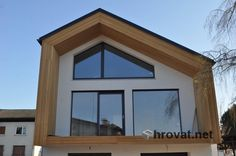 Mizarstvo Hrovat - Wooden facade - Lesena fasada Radomlje http://www.hrovat.net/izdelki/lesene-fasade/fasada-radomlje/