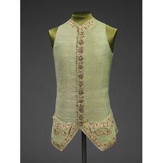 Waistcoat c 1770-1779