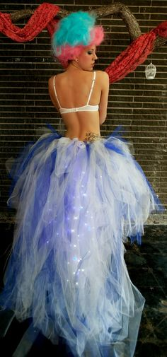 Light Up The Night LED Tutu by TheMadHattris on Etsy