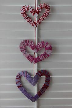 Woven Hearts Mobile