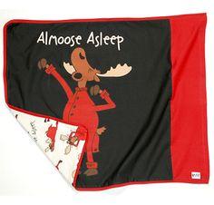 """Almoose Asleep"" pillowcase #lazyone #lazyoneinc"