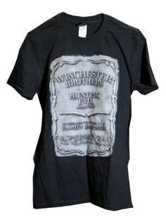 86454614a74 Amazon.com  Supernatural Family Business Official T-Shirt  Clothing