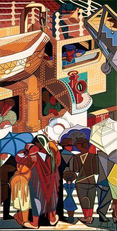Almada Negreiros Art And Illustration, Illustrations Posters, Henri De Toulouse Lautrec, Sgraffito, Gustav Klimt, Modern Art Artists, Picasso Art, Collages, Arte Pop