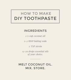 Beauty Spa, Real Beauty, Diy Beauty, Natural Beauty, Toothpaste Recipe, Beauty Secrets, Beauty Tricks, Stronger Teeth, Natural Toothpaste