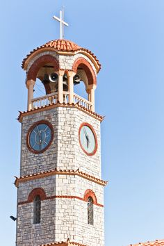 Go Greek, Cool Photos, Amazing Photos, Honeymoon Destinations, What Is Life About, Greece, The Originals, Clocks, Travel