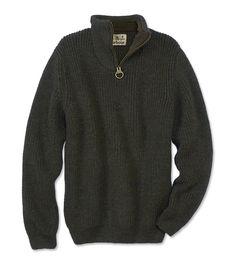 Just found this Barbour+Thick+Lambswool+Half-Zip+Sweater+For+Men+-+Barbour%26%23174%3b+New+Tyne+Half-Zip+Sweater+--+Orvis on Orvis.com!