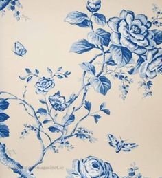 Buy Ralph Lauren Ashfield Floral Delft from the extensive range of Ralph Lauren at Select Wallpaper. Blue China, Delft, Floral Fabric, Designer Wallpaper, Art Inspo, Pattern Design, Ralph Lauren, Blue And White, Drawings