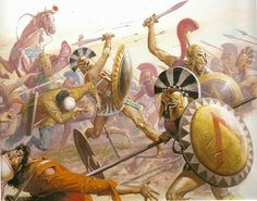 The Battle of Plataea was the final land battle during the 2nd Persian invasion of Greece. Spartan General Pausanias