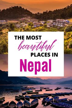 When people think of Nepal, they tend to go to the same 5 places, but there are so many hidden gems that are worth discovering. Check out this map along with guides to each destination in Nepal | Full Time Explorer | Nepal Destinations | Destinations in Asia | Nepal Travel | Hiking | Trekking | Ancient Cities | UNESCO World Heritage Sites | Nepali Cities | Villages Travel Nepal, Asia Travel, Amazing Destinations, Travel Destinations, Travel Guides, Travel Tips, List Of Cities, Plan Your Trip, Southeast Asia
