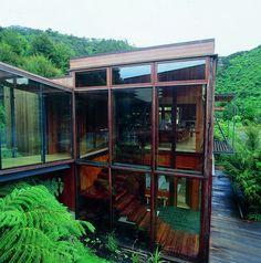 Waterfall Bay House in Marlborough, New Zealand