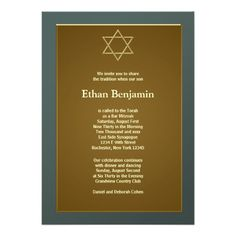 Slate Green Star of David Bar Mitzvah Personalized Invites In our offer link above you will seeShopping          Slate Green Star of David Bar Mitzvah Personalized Invites Online Secure Check out Quick and Easy...