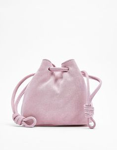 Real suede bag. Discover this and many more items in Bershka with new products every week